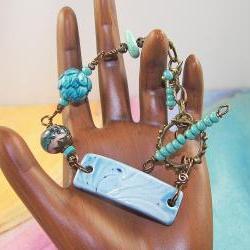 Lovely Aqua Bracelet